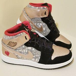 rose gold jordans shoes for women